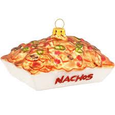 nacho platter glass ornament food beverage