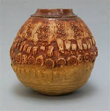 Studio Pottery Vase Antiques Atlas Bernard Rooke Studio Pottery Large Globular Vase