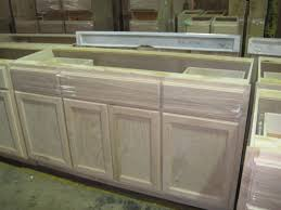 Unfinished Discount Kitchen Cabinets Kitchen Sink Cabinet Size Home Design Ideas