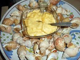 cuisiner des bulots recette de bulots a la mayonnaise