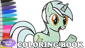 mlp lyra heartstrings coloring book pages my little pony lyra