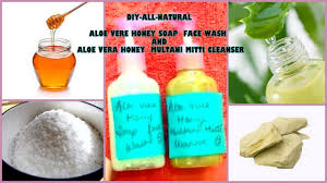 skin lightening aloe vera honey face wash and aloe vera honey