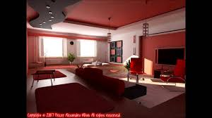 black u0026 red living room design ideas youtube