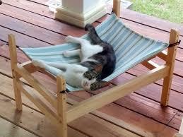 wowee pet wooden cat hammock with double decker option u2022 hauspanther