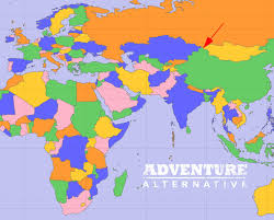 Blank Continent Map Asia Map With Countries Of Continent Clickable To Asian Of Labeled