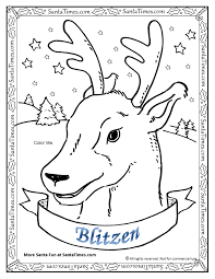 blitzen the reindeer