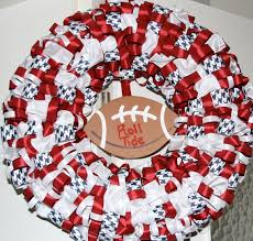 alabama ribbon 145 best alabama crimson tide wreaths images on