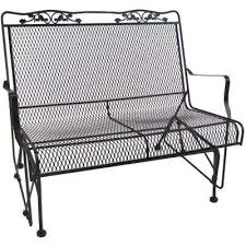 metal patio furniture gliding patio furniture outdoors the