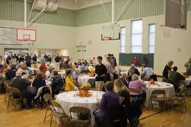 st brigid catholic church annual thanksgiving meal midland daily news