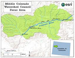 Grand Junction Colorado Map by Middle Colorado Watershed Council Tamarisk Coalition