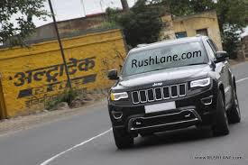 jeep india fiat india caught testing 2014 jeep grand cherokee again launch