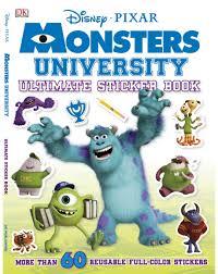 ultimate sticker book monsters university paperback dk