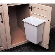 Kitchen Cabinet Trash Can Pull Out 25 Best Under Sink Bin Ideas On Pinterest Under Sink Storage