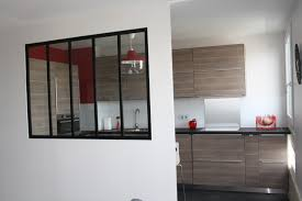 verriere entre cuisine et salle à manger cuisine ouverte verrière d atelier contemporain cuisine