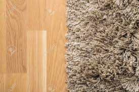 Laying Laminate Flooring On Carpet Fluffy Carpet On Laminate Floor Stock Photo Picture And Royalty