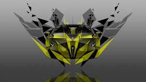 yellow lamborghini front 4k lamborghini aventador j front transformer abstract car 2014