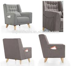 Modern Design Lobby Wooden One Seat Sofa For  Star Hotel - Sofa seat design