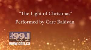 the light of christmas by care baldwin official lyric video