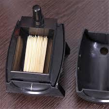 novelty toothpick dispenser wine barrel plastic automatic toothpick holder box toothpick storage