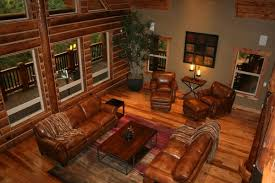 trendy interior paint colors for log homes with rustic leather