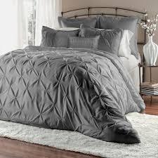 Unique Bed Comforter Sets Unique Home 8 Lucilla Pinch Pleat Comforter Set