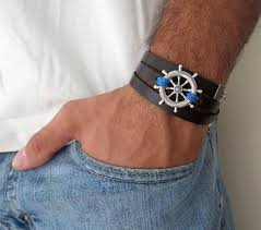 man black leather bracelet images 3655 best mens bracelets images jpg
