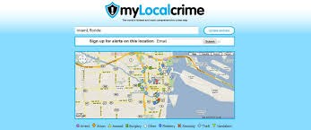 Miami Florida Map by Crime Maps Around The World Miami Florida Crime Map