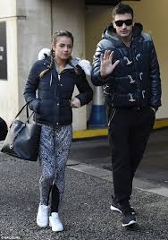 Georgia travel jacket images Georgia may foote and giovanni pernice 39 s first outing as a couple jpg