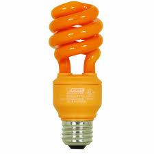 flickering light bulb halloween orange light bulbs lights decoration