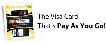 go prepaid card nascar reloadable prepaid visa card green dot