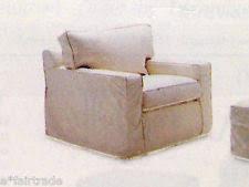 Armchair Slip Cover Pottery Barn Armchair Slipcovers Ebay
