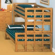 Solid Pine Bunk Beds Solid Pine Bunk Bed Bedroom