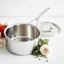 sur la table reviews innovative sur la table cookware demeyere industry5 covered saucepan