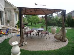 Patio Designs With Pergola by Awesome Gazebo Pergola Designs Ideas On Round Pavers Concrete