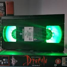 Man Cave Led Lighting by Retro Vhs Lamp The Exorcist Vhs Label Night Light Table Lamp