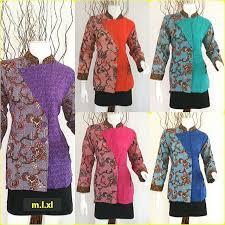 Baju Batik Batik model baju batik wanita terbaru 2016