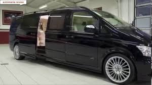 luxury minivan mercedes klassen mercedes vito luxury automania review youtube