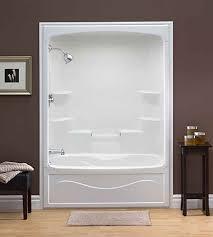 Mirolin Shower Door Mirolin Liberty 60 Inch X 88 Inch X 34 Inch 6 Shelf Acrylic 1
