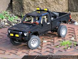 immensely detailed lego toyota hilux