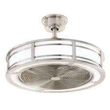 home decorators collection brette 23 in led indoor outdoor brette 23 in led indoor outdoor brushed nickel ceiling fan