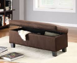bench making leather storage ottoman bench amazing ottoman bench