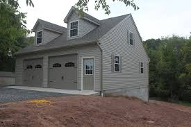Detached Garage Pictures by Amish Garages New Jersey Maryland Delaware Pennsylvania
