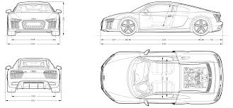 tag for audi rs blueprints audi a4 2009 dimensions crafts the