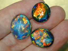 Opal Teh tips black opal kalimaya cara pilih yang terbaik keluarkan warna
