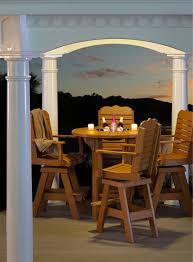 finch pub set elmer u0027s custom amish furniture southold long