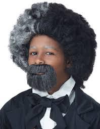 Halloween Costume Goatee Kids Frederick Douglas Costume Wig Goatee Costume Craze