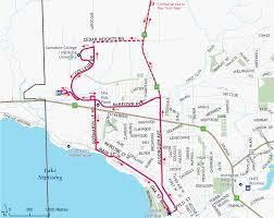 Algonquin Map 1a College University Via Algonquin City Of North Bay