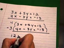 systems of linear equations elimination method part 2 youtube