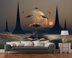 extraterrestrial home wallpapers space wallpaper u0026 wall murals wallsauce usa