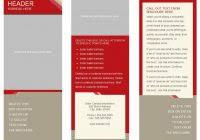 free printable tri fold brochure high quality template